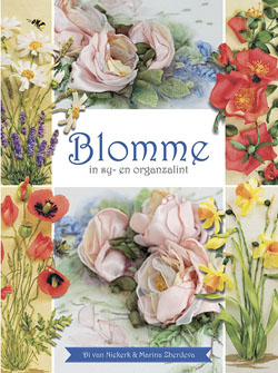 Blomme In Sy- En Organzalint