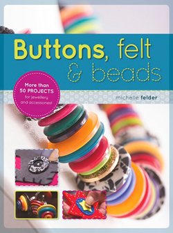 Buttons, Felt And Beads