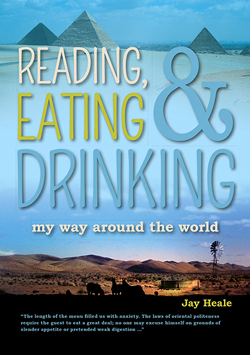 Reading, Eating And Drinking My Way Around The World