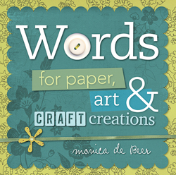 Words For Paper Art & Craft Creations